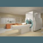 MRI (magnetic resonance imaging) room