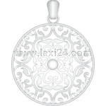 filigree pendant