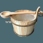 sauna bucket
