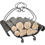 wood racks