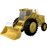 wheeled bulldozer