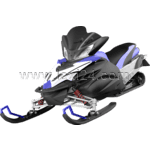 snowmobile: front view