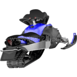 snowmobile: rear view