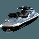 personal watercraft: rear view